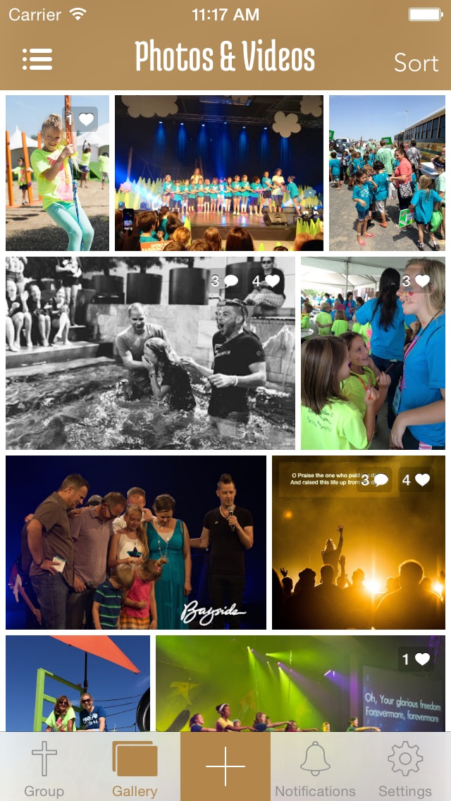 ChurchSnaps - Private sharing for church groups and mission