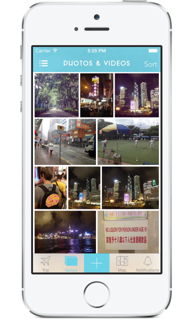 tripcast a living travel journal for your friends back home